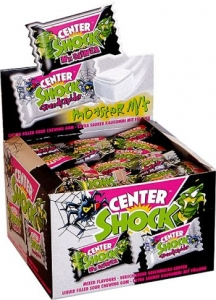 Gumy Chupa Chups Center Shock MONSTER! 10 szt Guma