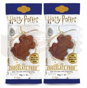 Harry Potter Chocolate Frog ZESTAW 2 sztuki żab